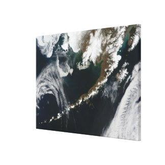 The Alaskan Peninsula and Aleutian Islands Canvas Print