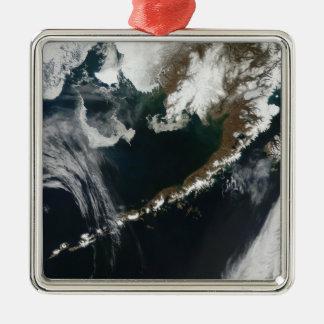 The Alaskan Peninsula and Aleutian Islands Metal Ornament