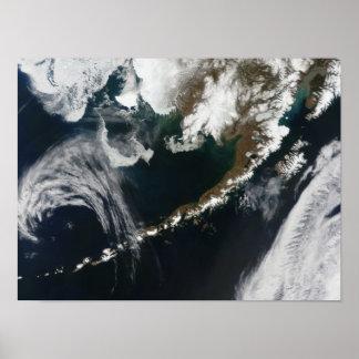 The Alaskan Peninsula and Aleutian Islands Poster