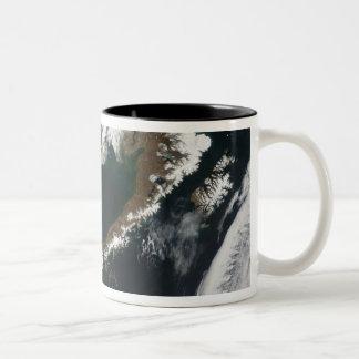 The Alaskan Peninsula and Aleutian Islands Two-Tone Coffee Mug