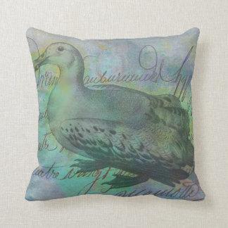 The Albatross Did Follow Throw Pillow
