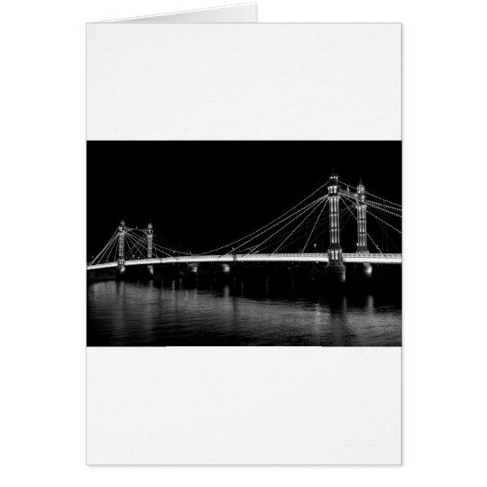 The Albert Bridge London Card
