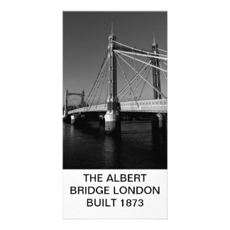 The Albert Bridge London Card