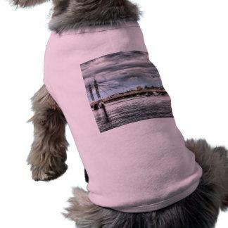 The Albert Bridge London Dog Tee