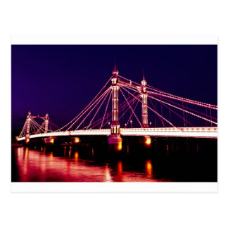 The Albert Bridge London Post Cards