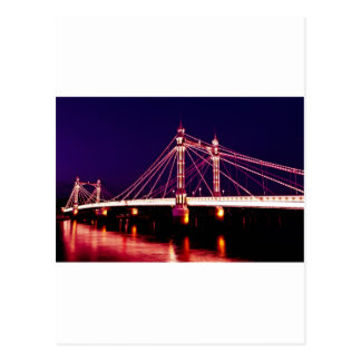 The Albert Bridge London Post Card