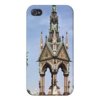 The Albert Memorial from the Albert Hall iPhone 4 Cover