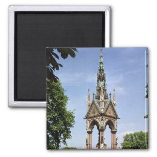 The Albert Memorial from the Albert Hall Magnet