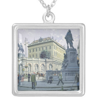 The Albertina, Vienna Silver Plated Necklace