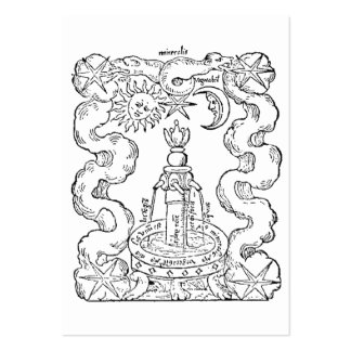 The Alchemical Fountain Business Cards