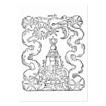 The Alchemical Fountain Large Business Card