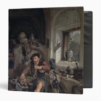 The Alchemist, 1663 3 Ring Binder