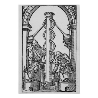 The Alchemist at Work Poster