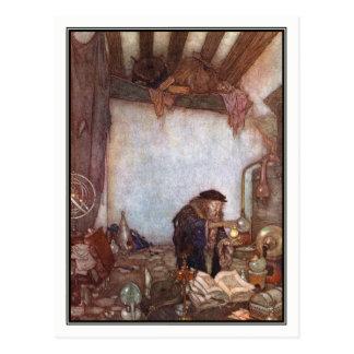The Alchemist by Edmund Dulac Postcard