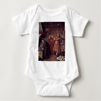 The Alchemist By Longhi Pietro (Best Quality) Baby Bodysuit