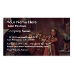The Alchemist By Longhi Pietro (Best Quality) Business Card Template