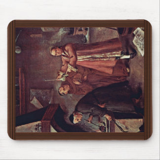 The Alchemist By Longhi Pietro (Best Quality) Mouse Pad