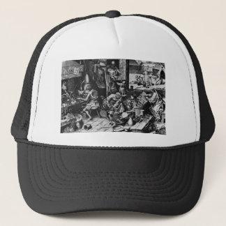 The Alchemist by Pieter Bruegel the Elder Trucker Hat