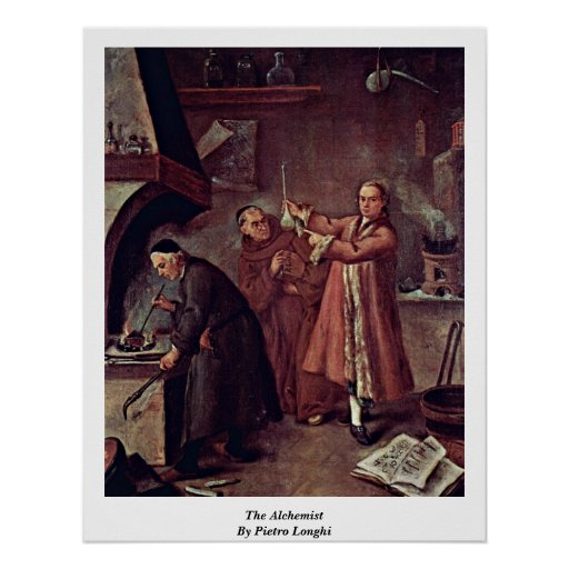 The Alchemist By Pietro Longhi Print