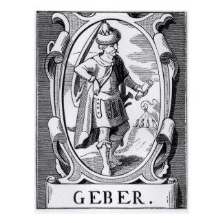 The Alchemist Geber Postcard