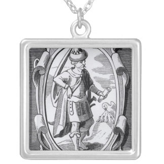 The Alchemist Geber Silver Plated Necklace