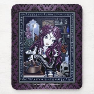 """The Alchemist"" Gothic Magic Fairy Mouspad Mouse Pad"