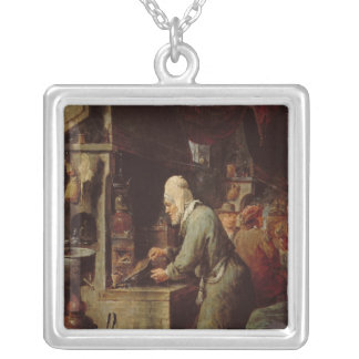 The Alchemist Silver Plated Necklace