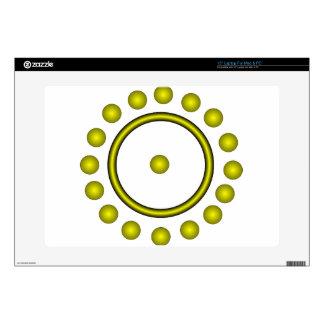 The Alchemist Symbol for Gold Laptop Skins