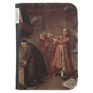 The Alchemists  by Pietro Longhi Kindle 3 Case