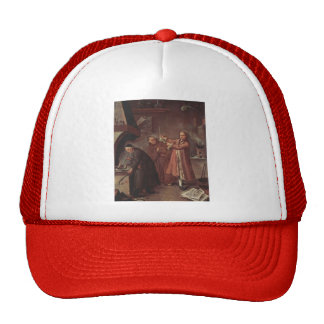 The Alchemists  by Pietro Longhi Hat