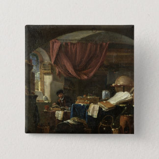 The Alchemist's Laboratory Pinback Button