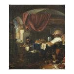 The Alchemist's Laboratory Stretched Canvas Prints