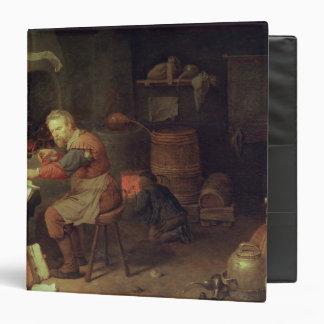 The Alchemist's Workshop 3 Ring Binder