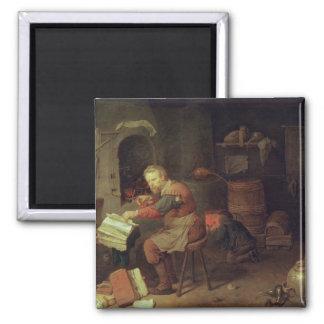 The Alchemist's Workshop Magnet