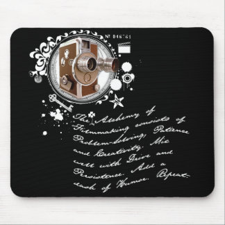 The Alchemy of Filmmaking Mouse Pad