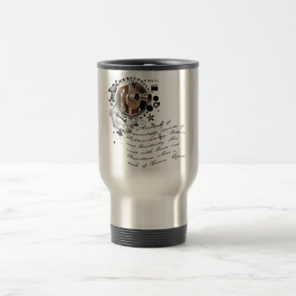 The Alchemy of Filmmaking 15 Oz Stainless Steel Travel Mug