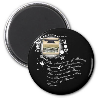 The Alchemy of Writing 2 Inch Round Magnet