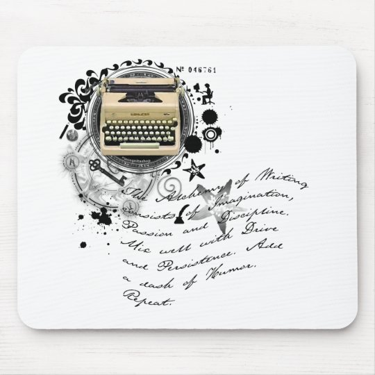 The Alchemy of Writing Mouse Pad