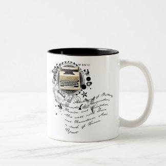 The Alchemy of Writing Two-Tone Coffee Mug