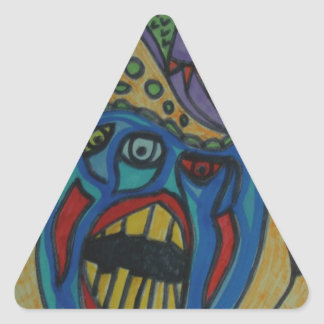 the Alcohol Effect Triangle Sticker