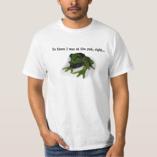 The Alcoholic Frog T-Shirt