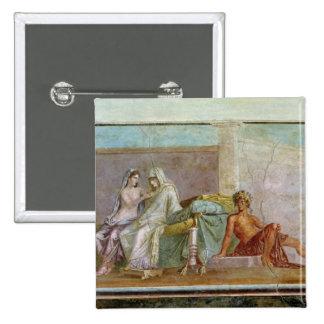 The Aldobrandini Wedding, 27 BC-14 AD Pinback Button