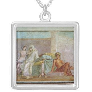 The Aldobrandini Wedding, 27 BC-14 AD Silver Plated Necklace