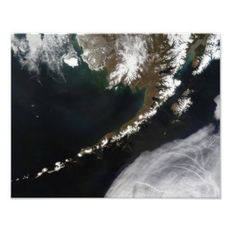 The Aleutian Islands and the Alaskan peninsula Photo Print