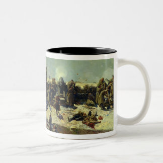 The Alexander battery attacking the Coffee Mugs