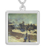 The Alexander battery attacking the Square Pendant Necklace