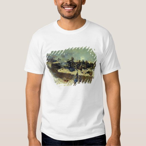 The Alexander battery attacking the Tshirt