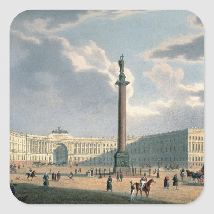 The Alexander Column and the Army Headquarters Square Sticker