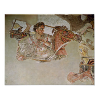 The Alexander Mosaic Poster