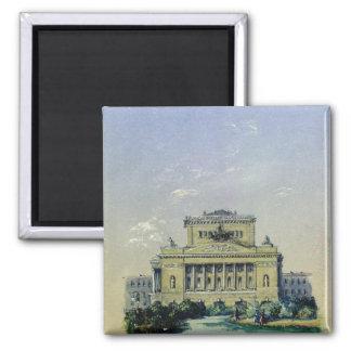 The Alexander Theatre in St. Petersburg, 1841 Magnet